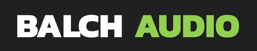 Balch Audio Site Logo